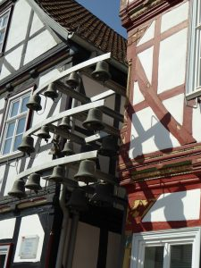 Glockenspiel am Marktplatz in Eschwege