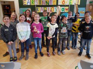 Klassen 3 und 4 der Astrid-Lindgren-Schule Hettenhausen, Gersfeld