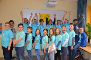 Klassen 3 und 4 der Alten Dorfschule Gondsroth, Hasselroth-Gondsroth