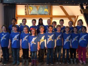 Klasse 3a der Grundschule Auf dem Falkenflug in Löhnberg