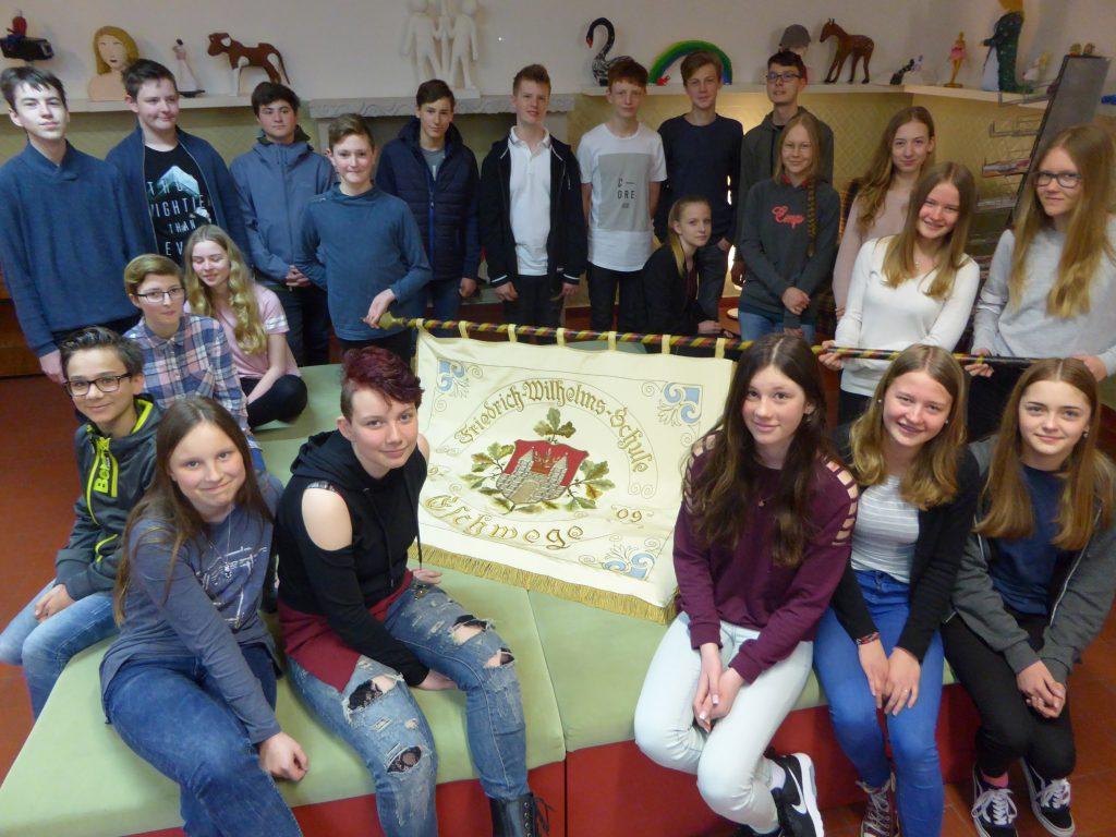 Klasse 8a der Friedrich-Wilhelm-Schule aus Eschwege
