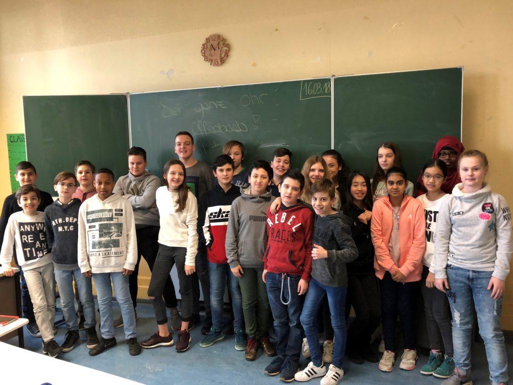 Klasse 6c der Albert-Schweitzer-Schule Offenbach