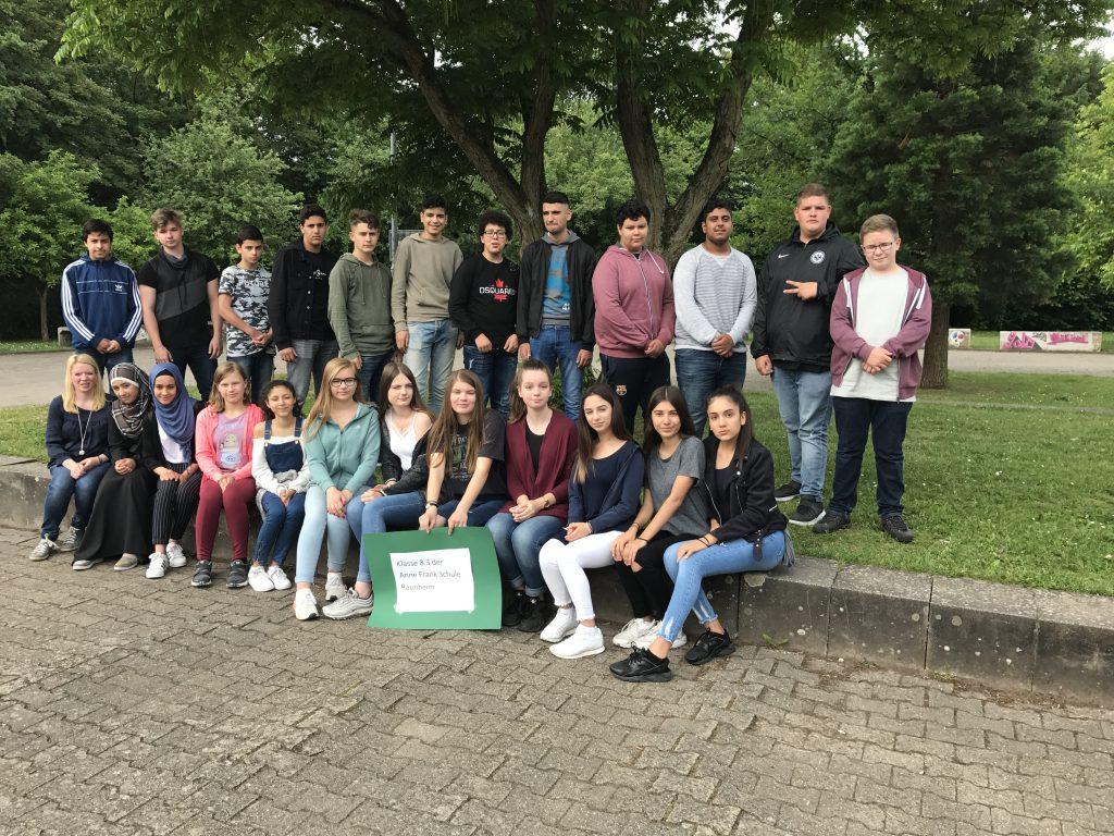 Klasse 8.3, Anne Frank Schule, Raunheim
