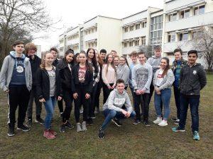 Klasse 9E der Martin-Niemöller-Schule in Riedstadt