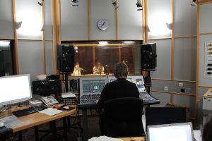 Endproduktion im BR-Studio Franken, Foto: Stiftung Zuhören