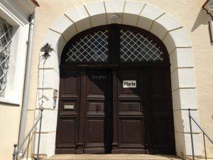 Eingang Kloster Wettenhausen / Bild: Kloster Wettenhausen Entwicklungs gGmbH