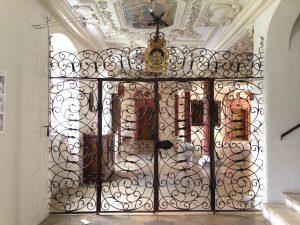 Eingangstür zum Klausurbereich des Klosters Wettenhausen / Bild: Kloster Wettenhausen Entwicklungs gGmbH