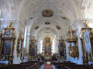 Maria-Himmelfahrt-Kirche Wettenhausen / Bild: Kloster Wettenhausen Entwicklungs gGmbH