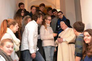Interview mit Priorin Schwester Amanda / Bild: Astrid Thum