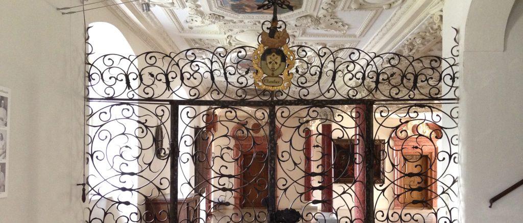Einganstür zum Klausurbereich des Klosters Wettenhausen / Bild: Kloster Wettenhausen Entwicklungs gGmbH