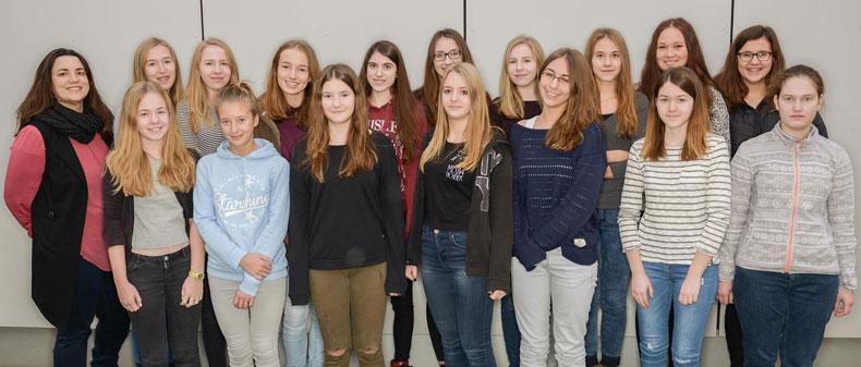 Das Audioguide-Team des Paul-Pfinzing-Gymnasiums Hersbruck / Bild: Michael Schober