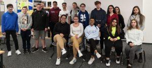 Klasse 10R1 der Alexander-von-Humboldt-Schule in Aßlar