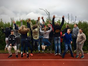 Klasse 9Rc der Mittelpunktschule Goddelsheim