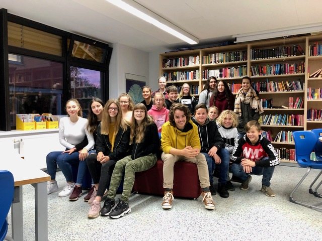 Deutsch E-Kurs aus den Klassen 8a und 8c der Jakob-Mankel-Schule in Weilburg
