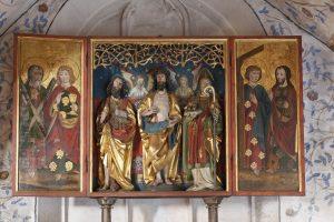 Das Altarbild mit der Gethsemane-Gruppe / Bild: Copyright dpa