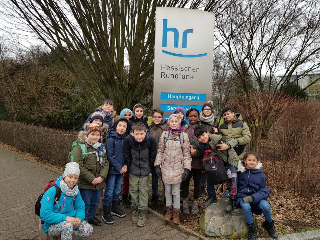 Klasse 4c der Hans-Christian-Andersen-Schule, Neu-Isenburg