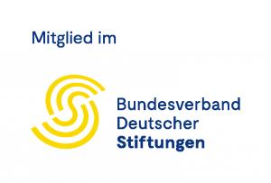 """Logo """"Mitglied im Bundesverband Deutscher Stiftungen"""""""