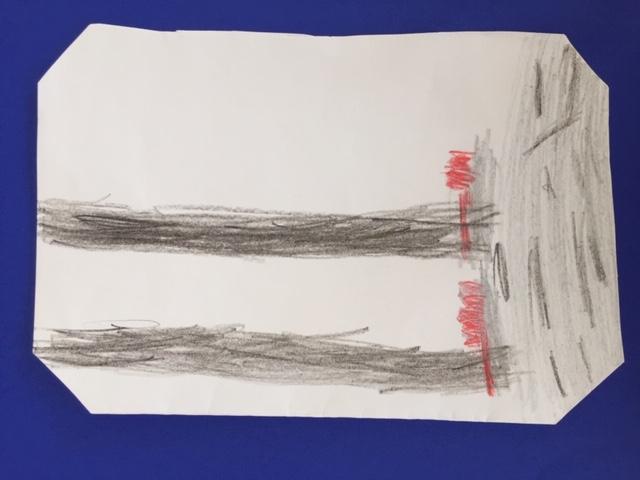 Zeichnung Beine und Füße